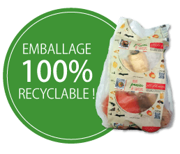 Mon panier de saveurs - Emballage 100 % recyclable
